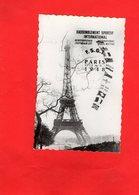 F2904 - PARIS 1948 - Rassemblement Sportif International - F.S.G.T - La Tour Eiffel - Tour Eiffel