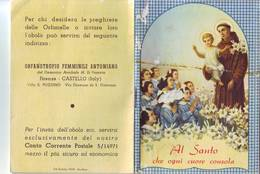 97)librettino Religioso Al Santo Che Ogni Cuore Consola-orfanotrofio Femminile Antoniano - Religion