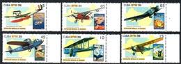 CUBA 4855/60 Avion, Italia, Espana, Maroc - Aerei