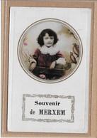 MERKSEM:  SOUVENIR DE MERXEM-VERSTUURD 1910-KIND - Belgique