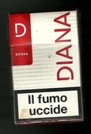 Tabacco Pacchetto Di Sigarette Italia - Diana Rossa Da 20 Pezzi N.1 - Tobacco-Tabac-Tabak-Tabaco - Porta Sigarette (vuoti)