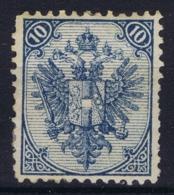Bosnien Und Herzegowina Mi 5 I M   Perfo 11,5  MH/* Flz/ Charniere - 1850-1918 Imperium