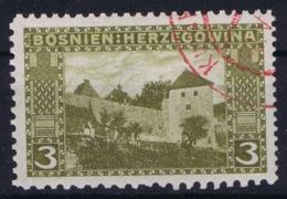 Bosnien Und Herzegowina Mi 31 Mischzähnung  9.25  * 10.5 Used Rotstempel - Usados