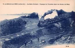 LA BAULE SUR MER Au Bois D Amour Passage De L Express Dans Les Dunes De Mazy 17(SCAN RECTO VERSO)MA0093 - La Baule-Escoublac