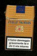 Tabacco Pacchetto Di Sigarette Italia - Philip Morris Kings Da 20 Pezzi - Tobacco-Tabac-Tabak-Tabaco - Porta Sigarette (vuoti)