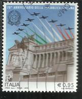ITALIA REPUBBLICA ITALY REPUBLIC 2016 ANNIVERSARIO DELLE PARI OPPORTUNITÀ VOTO ALLE DONNE MINISTRO USATO USED OBLITERE' - 6. 1946-.. Repubblica