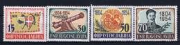 Jugoslawien Mi 751 - 754 Postfrisch/neuf Sans Charniere /MNH/**  1954 - 1945-1992 Sozialistische Föderative Republik Jugoslawien