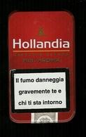 Scatola In Metallo Per Sigarete Italia - Hollandia - Porta Sigarette (vuoti)