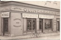 DEVANTURE QUINCAILLERIE P. LAURENT. PLACE GUYNEMER. CARTE PRIVEE - Antibes - Vieille Ville