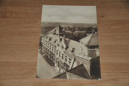 9209-     LE CHATEAU DE GAESBEEK, L'AILE GAUCHE VUE DE LA PLATE FORME DU CHATELET - Lennik