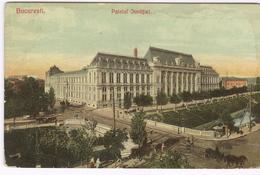 1906 Bucuresti Palatul Justitiei - Justitiepaleis - Palais Justice  - Boekarest -   Ed. Nr 1011 Ad. Maier & D. Stern - Romania