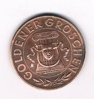 GOLDENER GROSCHEN 1950 WIEN OOSTENRIJK /3763/ - Autriche