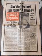 Nacht-Depesche - 23 NOVEMBER 1963 - John F.Kennedy - Magazines & Newspapers