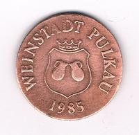 WEINSTADT PULKAU 1985 / OOSTENRIJK /3764/ - Autriche