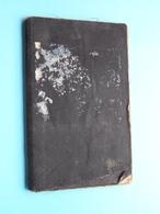 Livret De MOBILISATION Zakboekje PAULIER Camille Née FRAIRE 14 Mai 1899 ( Armée Belge ) Classe 1919 ( Zie Foto's ) ! - Documents