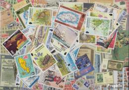 GB - Alderney Briefmarken-100 Verschiedene Marken - Alderney