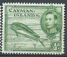 Iles Caimans     - Yvert N°   105 B  **    ( Dent 14 ) -  Bce 18409 - Caimán (Islas)