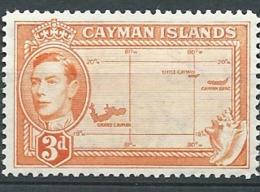 Iles Caimans     - Yvert N°   110 A  **    ( Dent 12 /1/2 ) -  Bce 18410 - Caimán (Islas)