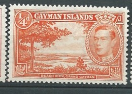 Iles Caimans     - Yvert N°   104  A **    ( Dent 12 1/2) -  Bce 18413 - Caimán (Islas)