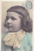 CARTE FANTAISIE .CPA COLORISÉE.  PORTRAIT ENFANT . ANNEE 1906 - Portraits