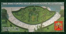 Vaticano 1995 Libretto (Sass.Lib.4) **/MNH - Blocs & Feuillets
