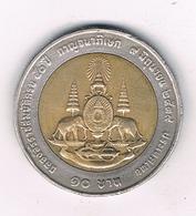 10 BAHT 1996 THAILAND /3771/ - Thaïlande