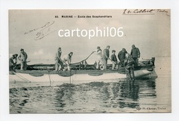 - CPA TOULON (83) - MARINE - Ecole Des Scaphandriers 1911 (belle Animation) - Edition L O N° 83 - - Toulon