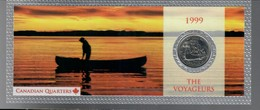 Canada 1999 1/4 $ The Voygeurs - Canada