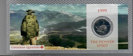 Canada 1999 1/4 $ The Pioneer Spirit - Canada