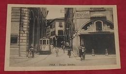 Pisa - Borgo Stretto ::: Animation Tramway  ---------------- 498 - Pisa