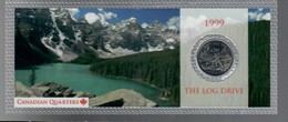 Canada 1999 1/4 $ The Log Drive - Canada