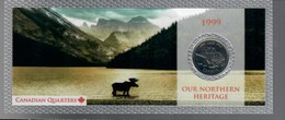 Canada 1999 1/4 $ Our Nrthern Heritage - Canada