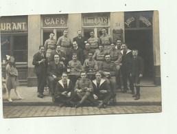 Antwerpen - Café-Restaurant Chez Pays - Louis Hoornaert Met Militairen. - Antwerpen