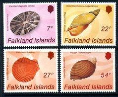 Falkland Islands 1986 Sea Shells Set Of 4, MNH, SG 518/21 - Falkland Islands