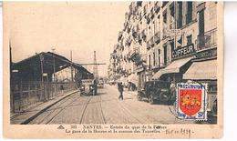 44 NANTES  ENTREE  DU QUAI  DE LA FOSSE    TBE   LA356 - Nantes