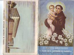 106)librettino Religioso Il Segreto Miracoloso Ovvero Il Pane Di S.antonio - Religion