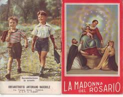 107)librettino Religioso La Madonna Del Rosario - Religion