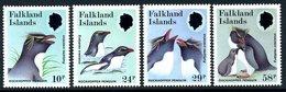 Falkland Islands 1986 Rockhopper Penguins Set Of 4, MNH, SG 532/5 - Falkland
