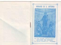108)librettino Religioso Rosario Di S.antonio-palermo - Religion