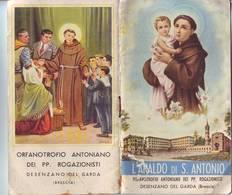 109)librettino Religioso L'araldo Di S.antonio-desenzano Del Garda - Religion