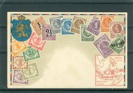 Relief - Gaufrée - Embossed - Prage - Timbres CURACAO - TBE - Postcards