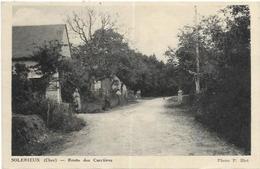 18. SOLERIEUX.   ROUTE DES CARRIERES - France