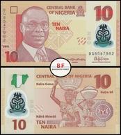 Nigeria | 10 Naira | 2015 | P.39f | UNC - Nigeria