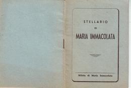113)librettino Religioso Stellario Di Maria Immacolata - Religion