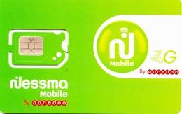 Carte SIM Neuve Nessma Mobile - Tunisia