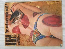 HARA KIRI Mensuel N° 53. Juillet 1965 (Wolinski, Gébé, Fred,Reiser) Avec Poster.(Médiocre) - Humor