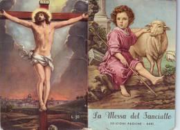115)librettino Religioso La Messa Del Fanciullo-edizioni Paoline - Bari - Religion