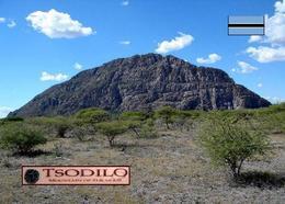 Botswana Tsodilo Hills UNESCO New Postcard - Botsuana
