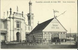 Exposition Universelle De Liége 1905.-- Ferme Westphalienne.    ( 2 Scans ) - Liege