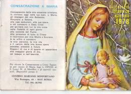 116)librettino Religioso Calendario Liturgico Mariano 1978 - Religion